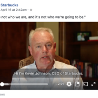 Starbucks CEO Does The Right Thing, Thanks Dakin Associates For The Idea