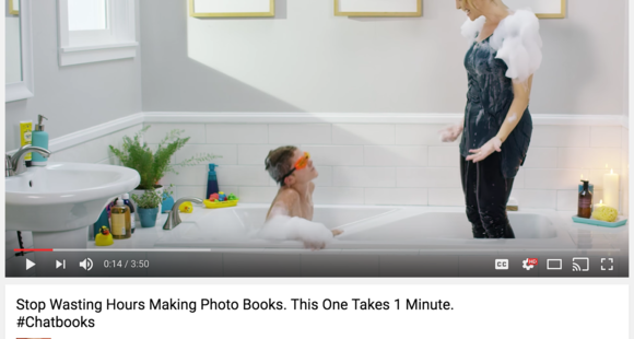 Chatbooks dominates facebook with this must see video