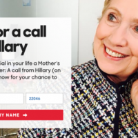 Mother's Day – What Would You Do If You Got A Call From Hillary Clinton?