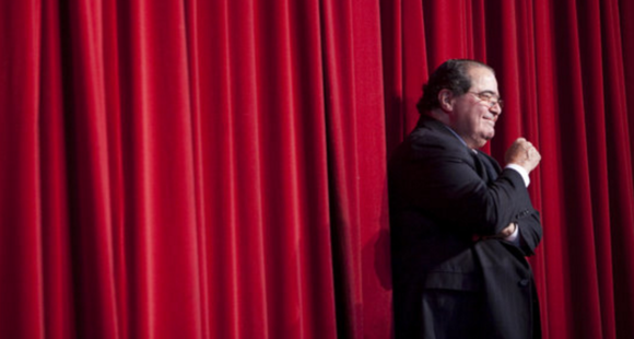 Scalia has died.   How did you find out?