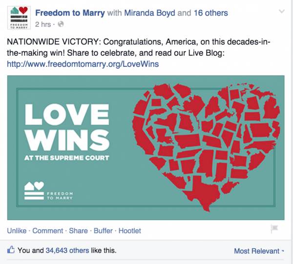 Fb link https://www.facebook.com/freedomtomarry.org/posts/10155810089760093