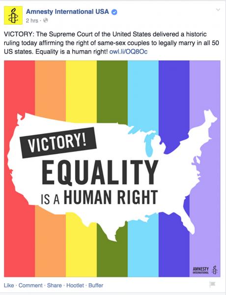 Fb post https://www.facebook.com/amnestyusa/posts/10152867888991363