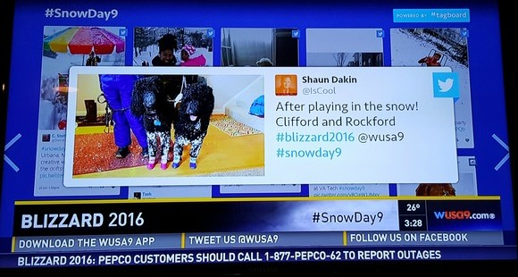 #Blizzard2016 and Traditional Media; Fastest Growing News Site of 2015